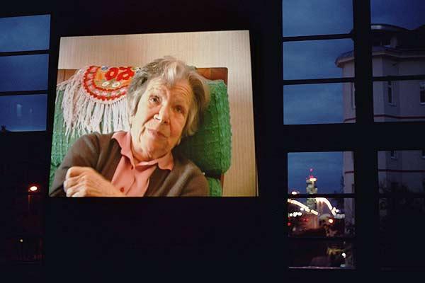 Erinnerungsfeier der Lagergemeinschaft Ravensbrück & FreundInnen mit Interviewausschnitten von Hanna Vogl. Foto: Sylvia Köchl
