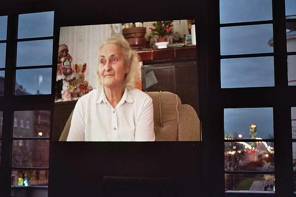 Erinnerungsfeier der Lagergemeinschaft Ravensbrück & FreundInnen mit Interviewausschnitten von Lotte Gelb Foto: Sylvia Köchl