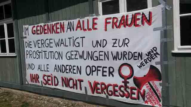 Frauengedenken in der Gedenkstätte Mauthausen 2015