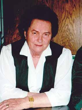Friederike Jandl 1998 beim Interview. Foto: Brigitte Halbmayr